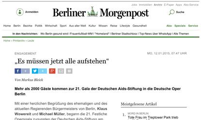 Presse-Echo Berliner Morgenpost