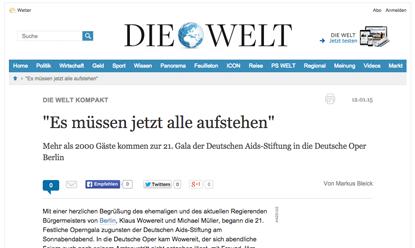 Presse-Echo Die WELT